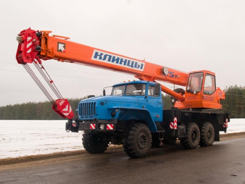 Клинцы КС-55713-3К-2 на шасси Урал 5557 (Гексогональная)