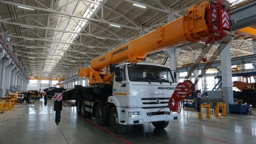 Автокран Ивановец КС-65740-6 на КАМАЗ-6540 8х4, 40 т, 30 м
