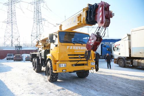Автокран Галичанин, КС-55713-5В, 25т, 6х6, 2015г.в.