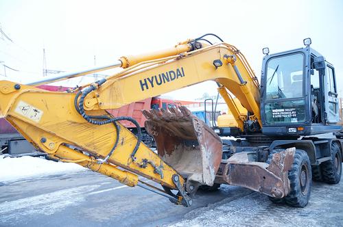 Экскаватор Hyundai R170W-7