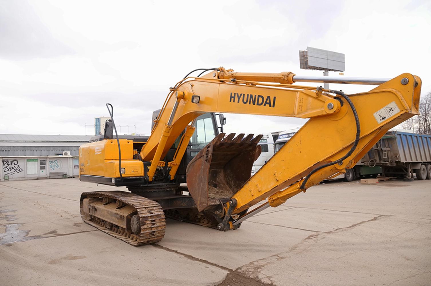 Экскаватор Hyundai r160lc-7 (2011г.)