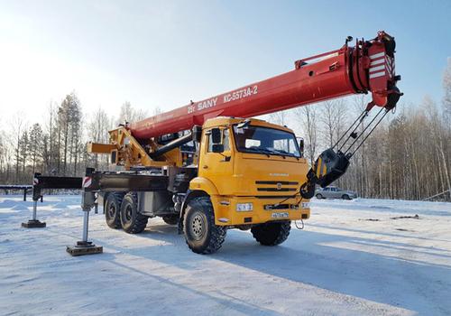 Автокран PALFINGER SANY КС5573А-243