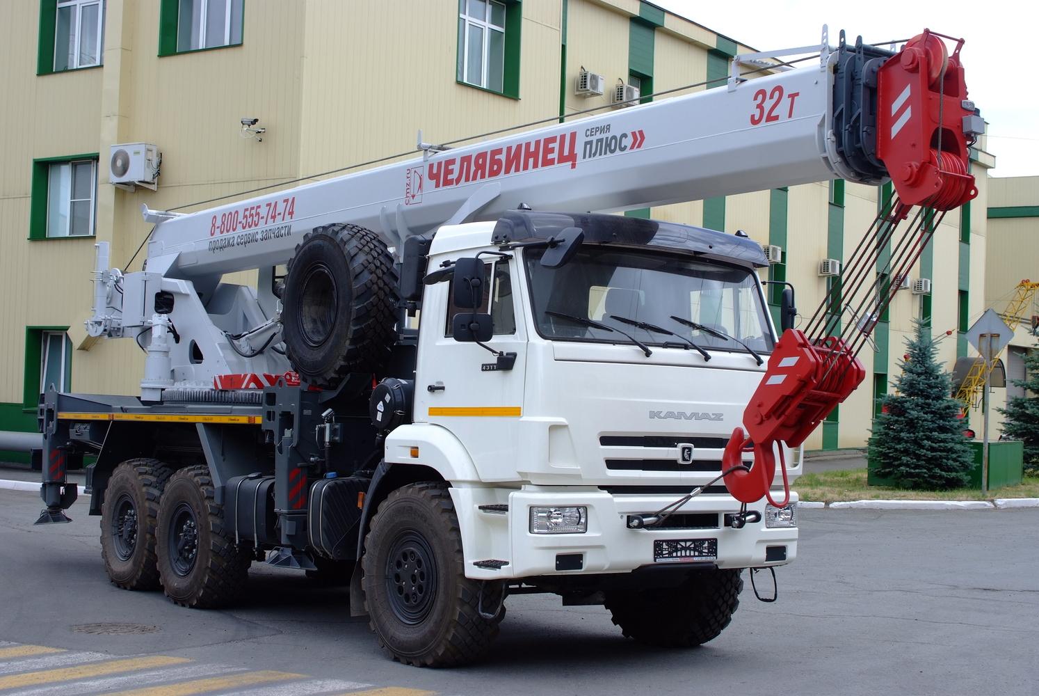 Продается кран Челябинец 32 тонны на базе Камаз
