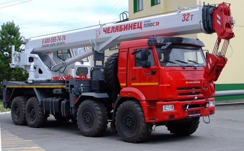 Челябинец КС-55733-33 на КАМАЗ-63501 8х8