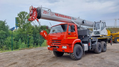 Автокран Челябинец КС-55732-31 25 т, 31 м, на КАМАЗ-43118 6x6