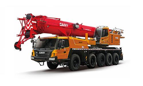 Автокран вездеход Palfinger Sany SAC1100S 110 т 63 м