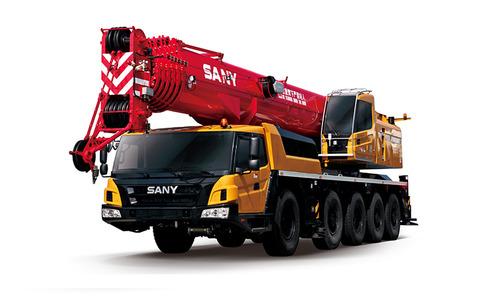 Автокран вездеход Palfinger Sany SAC1300S 130 т 63 м