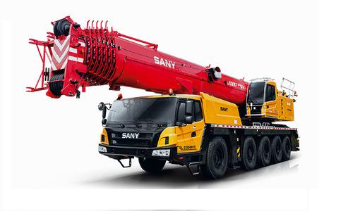 Автокран вездеход Palfinger Sany SAC1600S 160 т 73 м