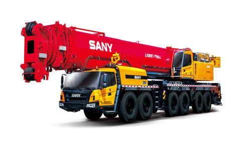 Автокран вездеход Palfinger Sany SAC4500S 450 т 84 м