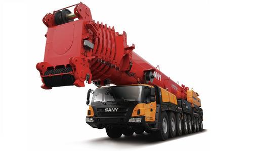 Автокран вездеход Palfinger Sany SAC6000S 600 т 90 м