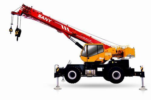 Короткобазный кран Palfinger Sany SRC400C 40 т, 31 м