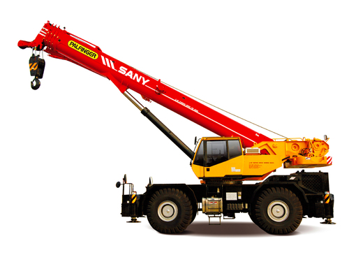 Короткобазный кран Palfinger Sany SRC1200C 120 т, 49 м