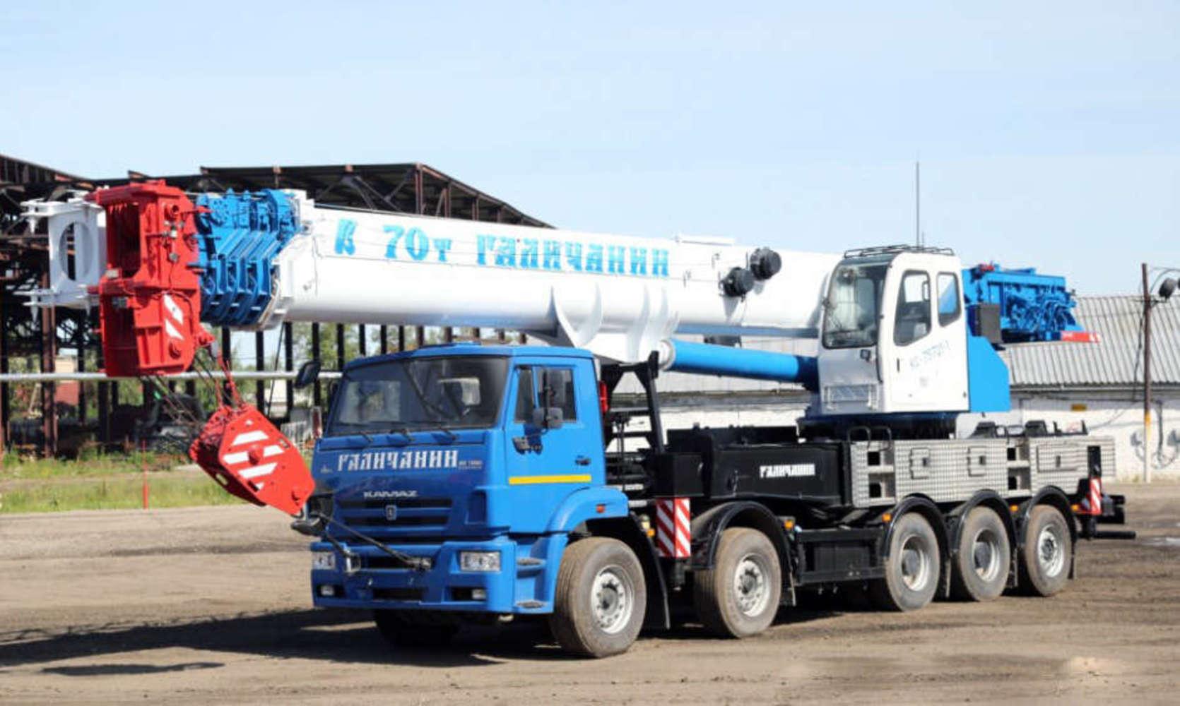 Галичанин КС-75721-1 H&H на шасси КамАЗ 7330 (Овоид)