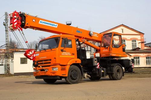 Клинцы КС-35719-1-02 на шасси КамАЗ 43253 (Гексогональная)