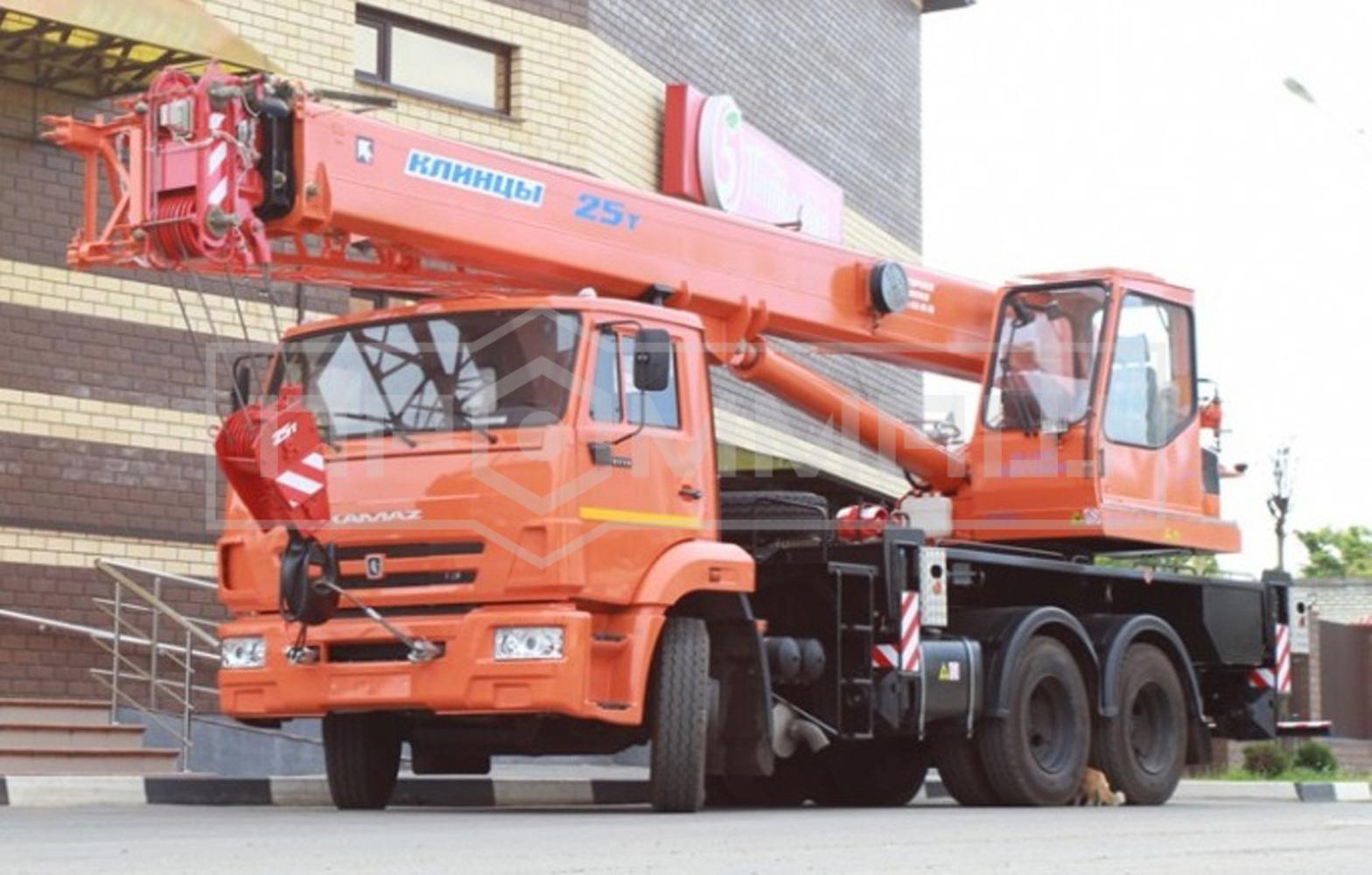 Клинцы КС-55713-1К-2 на шасси КамАЗ 65115 (Гексогональная)