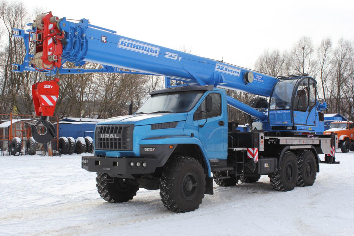 Клинцы КС-55713-3К-4В на шасси Урал 4320 Next (Овоид)
