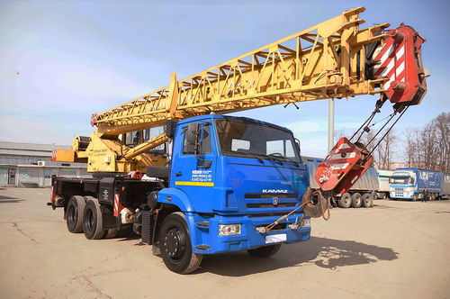 Галичанин КС-55713-1В на шасси КамАЗ 65115 - 2014 г.в.