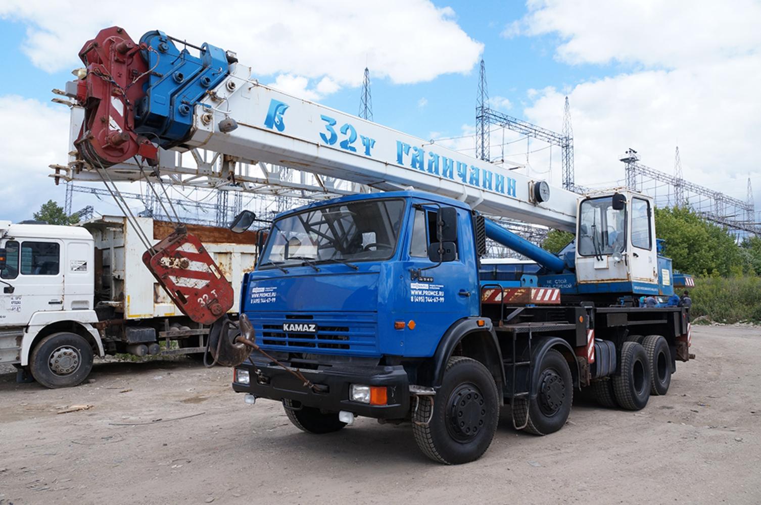 Продажа автокрана Галичанин КС55729-1В, 2012