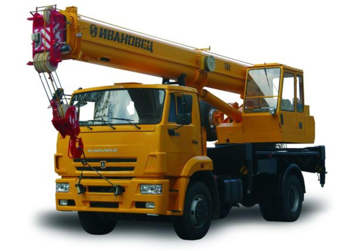 Ивановец КС-35714К-3 на шасси КамАЗ 53605