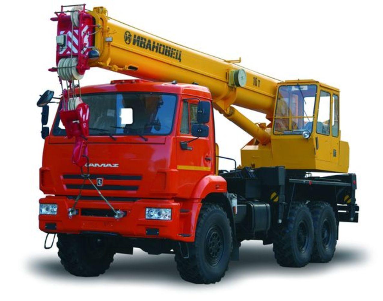 Ивановец КС-35714К-2 на шасси КамАЗ 43118