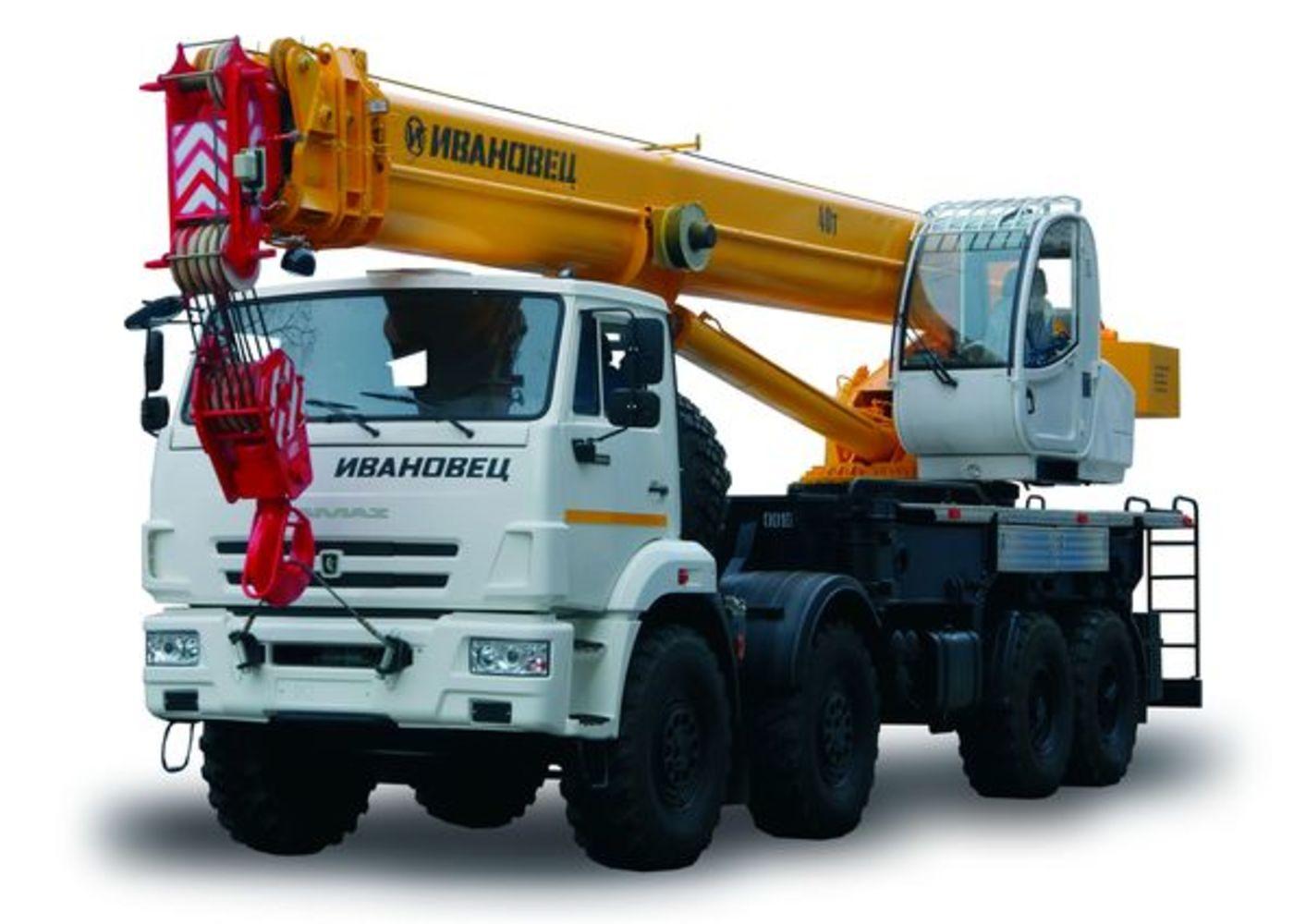Ивановец КС-65740-8 на шасси КамАЗ 65201