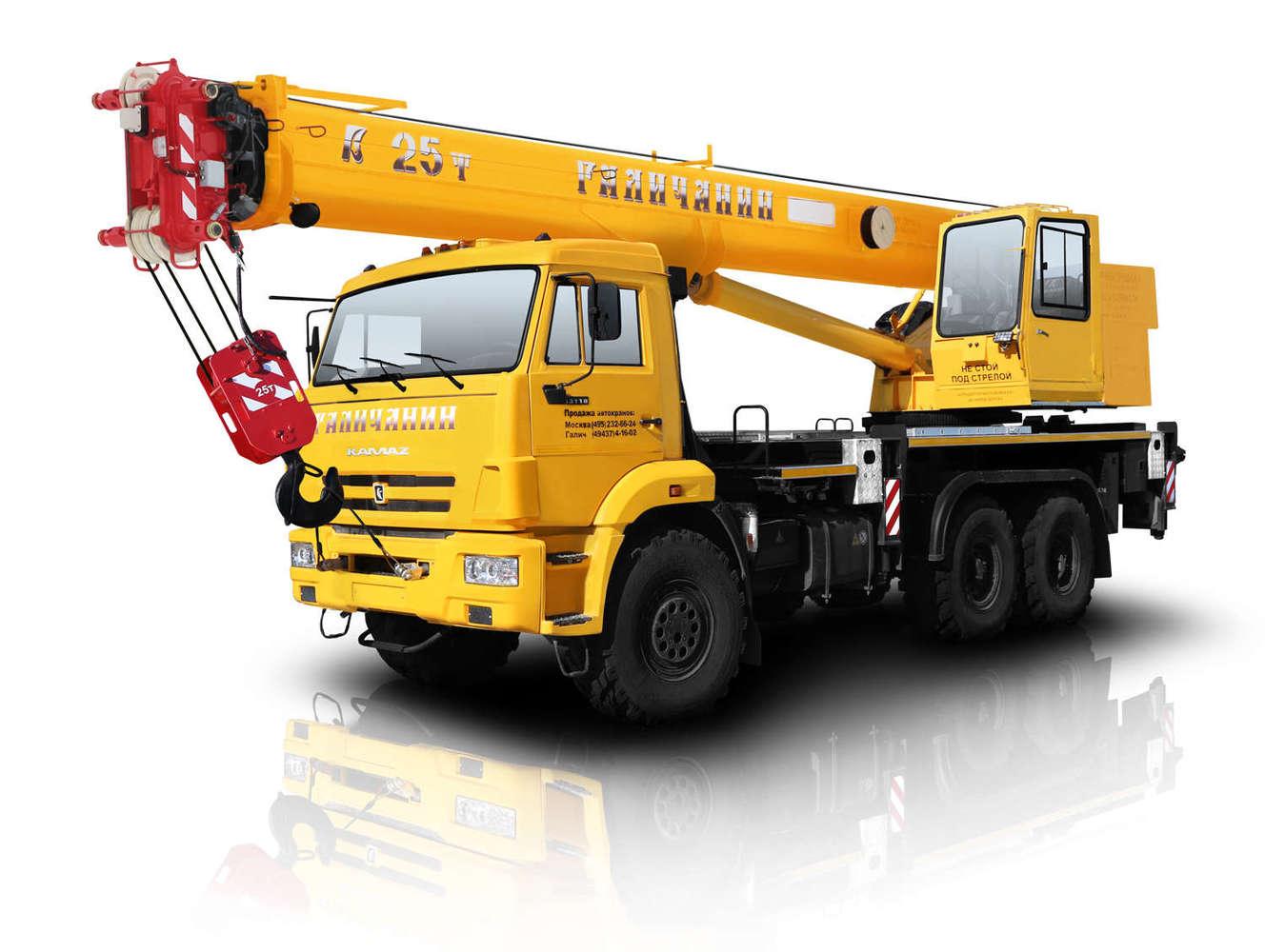 Галичанин КС-55713-1Л на шасси КамАЗ 65115 (Овоид)