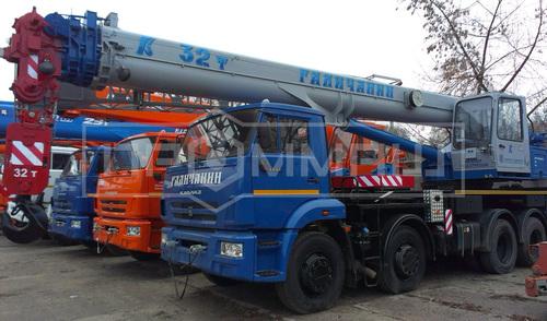 Галичанин КС-55729-1В на шасси КамАЗ 6540 (Овоид)