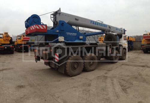 Галичанин КС-55729-5В на шасси КамАЗ 63501 (Овоид)
