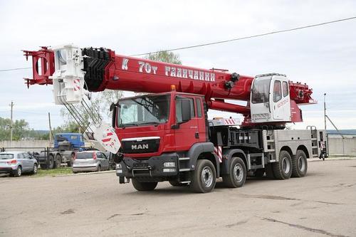 Галичанин КС-75721-3 H&H на шасси MAN (Овоид)