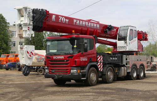 Галичанин КС-75721-8 на шасси Scania (Овоид)